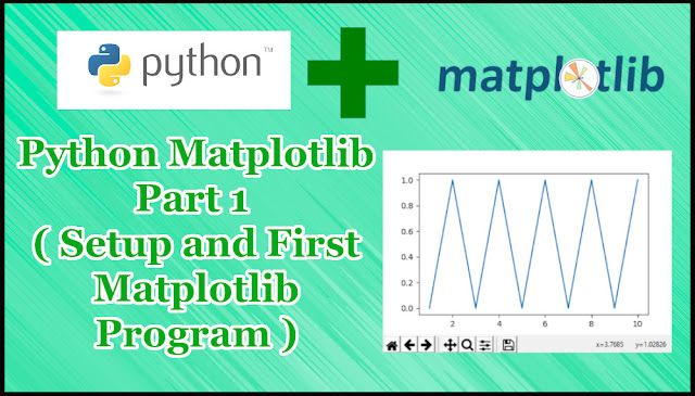 Python Matplotlib Part 1 | Setup & First Example Program