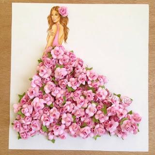שמלות מפרחים