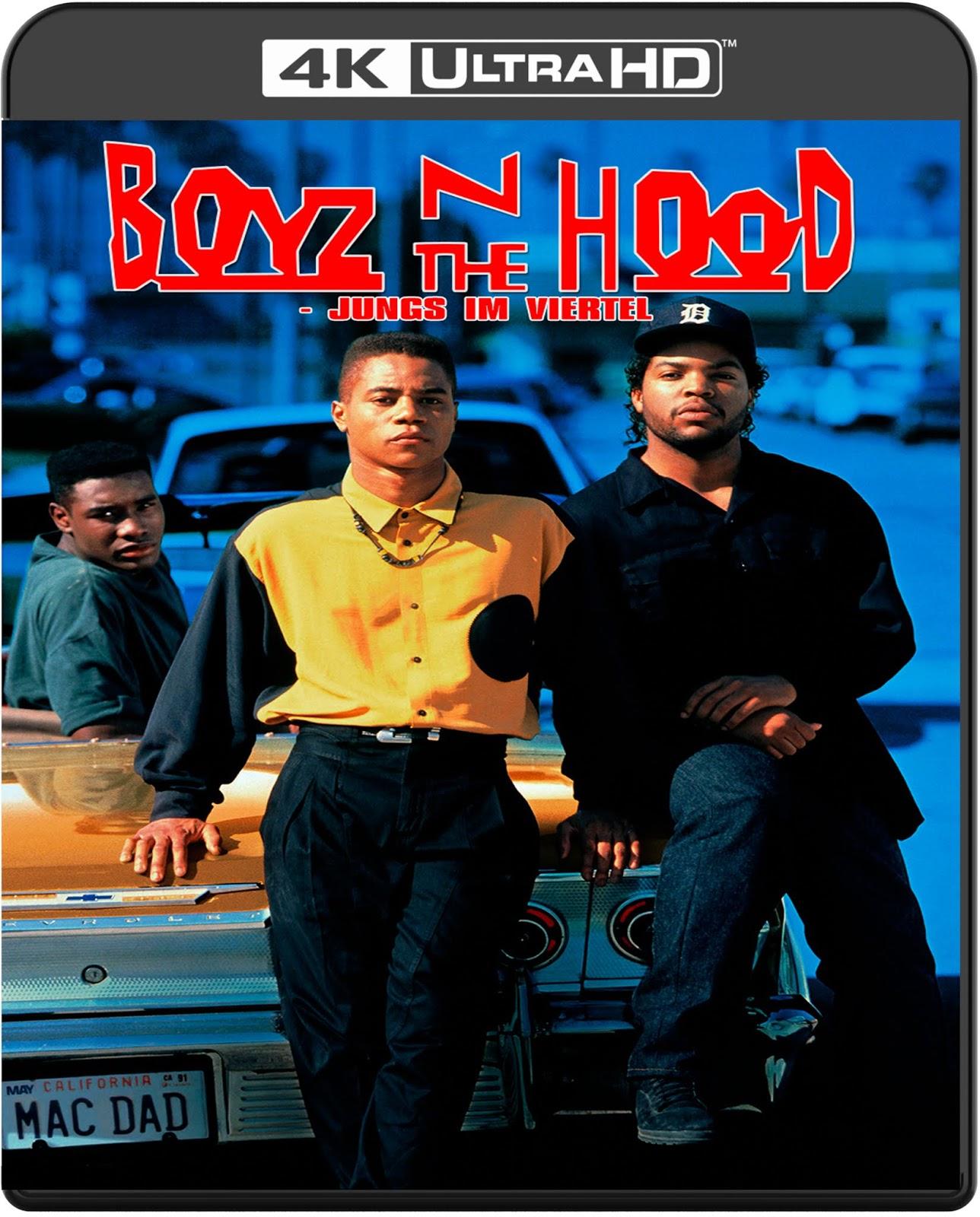 Boyz N the Hood [1991] [UHD] [2160p] [Latino – Castellano]