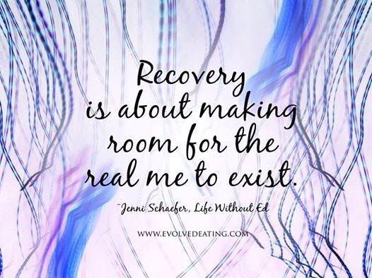 Just a nice blog about recovery and todays news : April