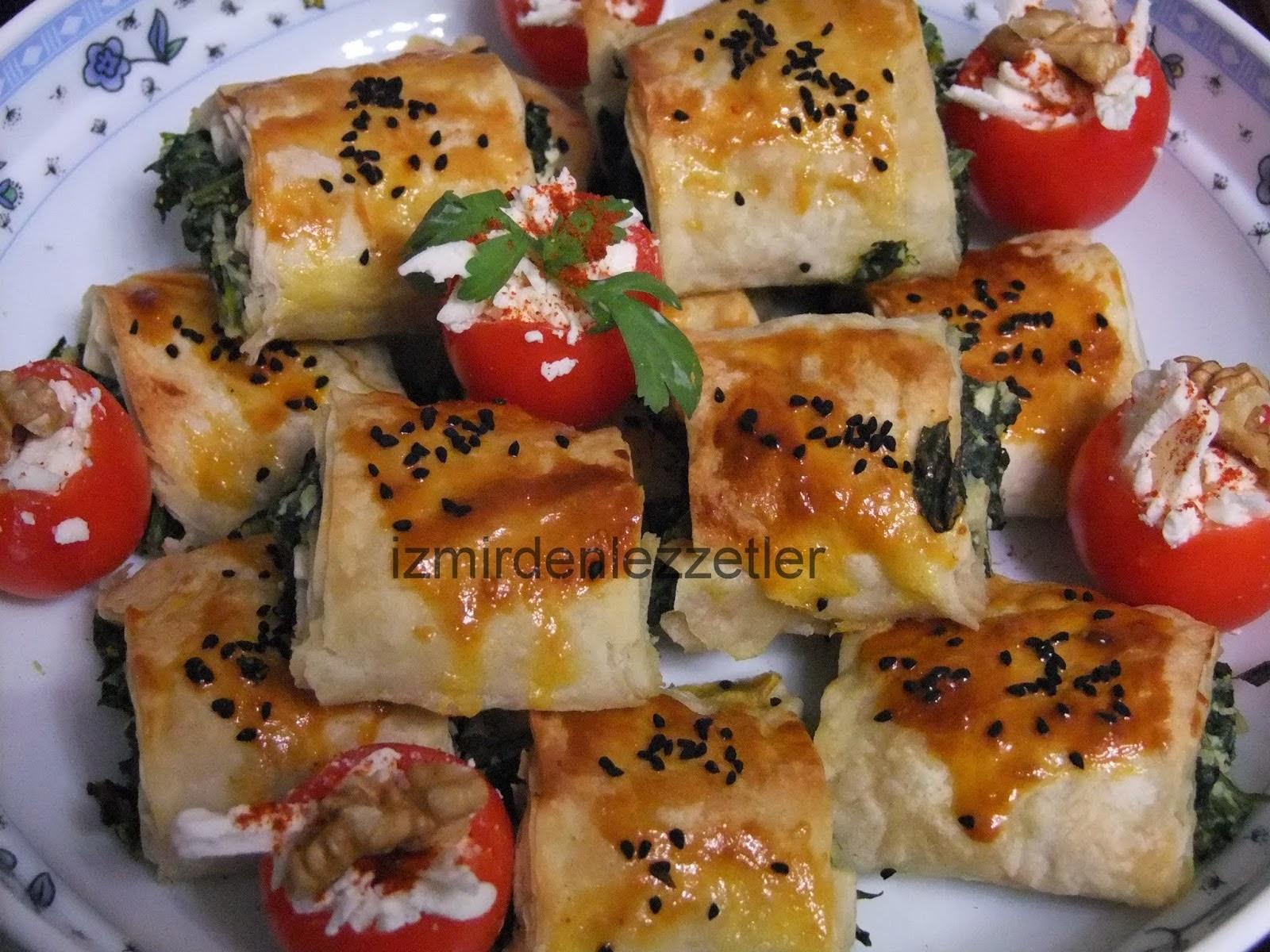 Peynirli Domates Dolması