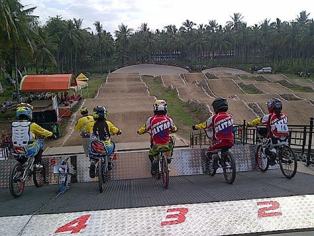Sirkuit BMX Muncar, Banyuwangi.