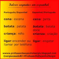 Aprender Español, Falsos Amigos Portugués, Portugués, Aprender Portugués