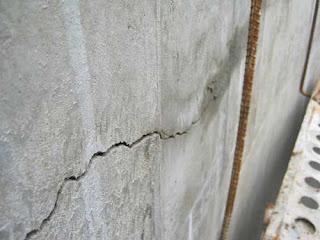 Xử lý nứt tường bê tông