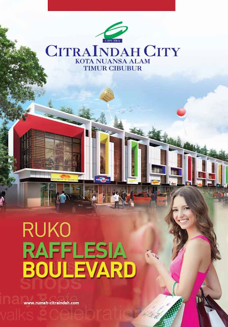 Download Brosur RUKO RAFFLESIA BOULEVARD Citra Indah City