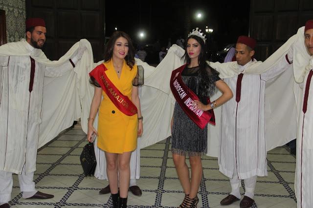 ملكة جمال الأمازيغ  ميس امازيغ مهرجان الأزياء التقليدية