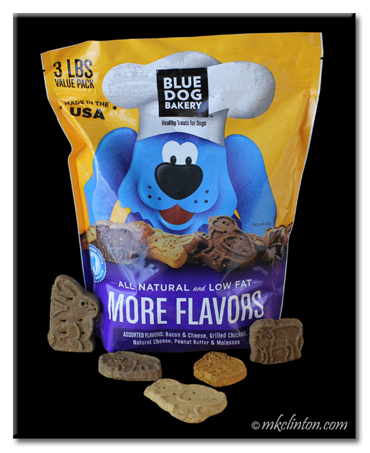 3-lb. bag od Blue Dog Bakery dog treats