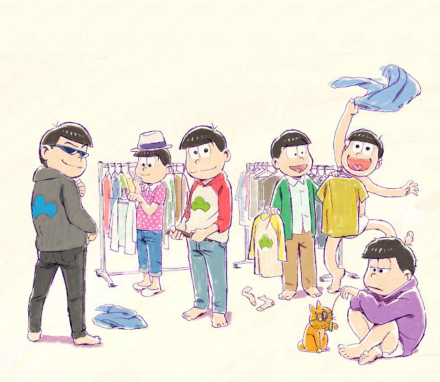 Nova temporada de Osomatsu-san anunciada