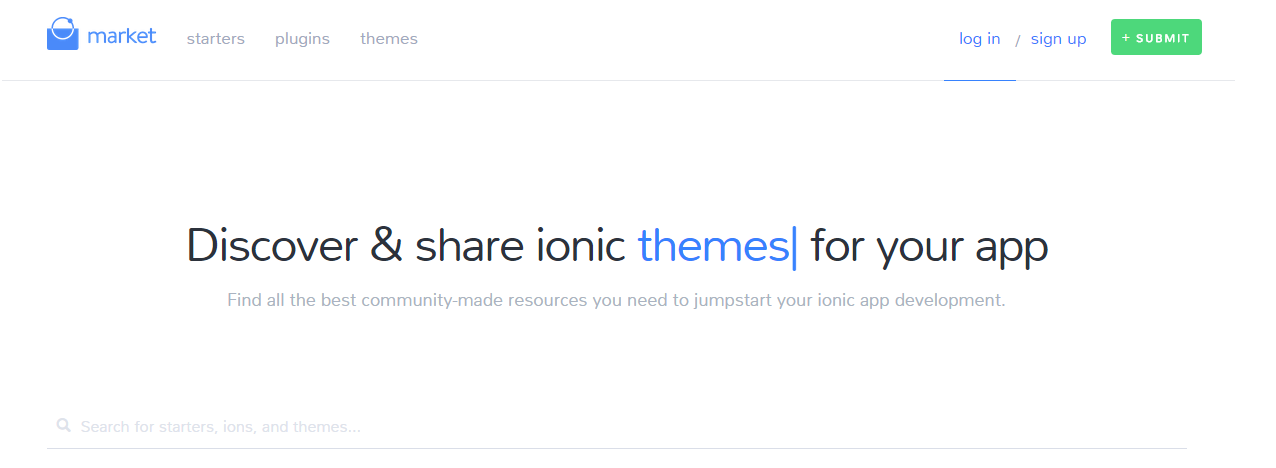 59) Announcing the Ionic Market ~ CodeAndYou
