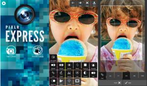 Aplikasi Pixlr Express