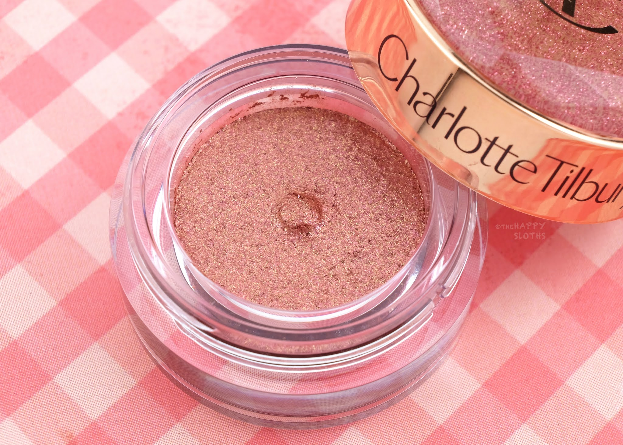"Charlotte Tilbury | ""Walk of No Shame"" Charlotte's Jewel Pots Eyeshadow: Review and Swatches"