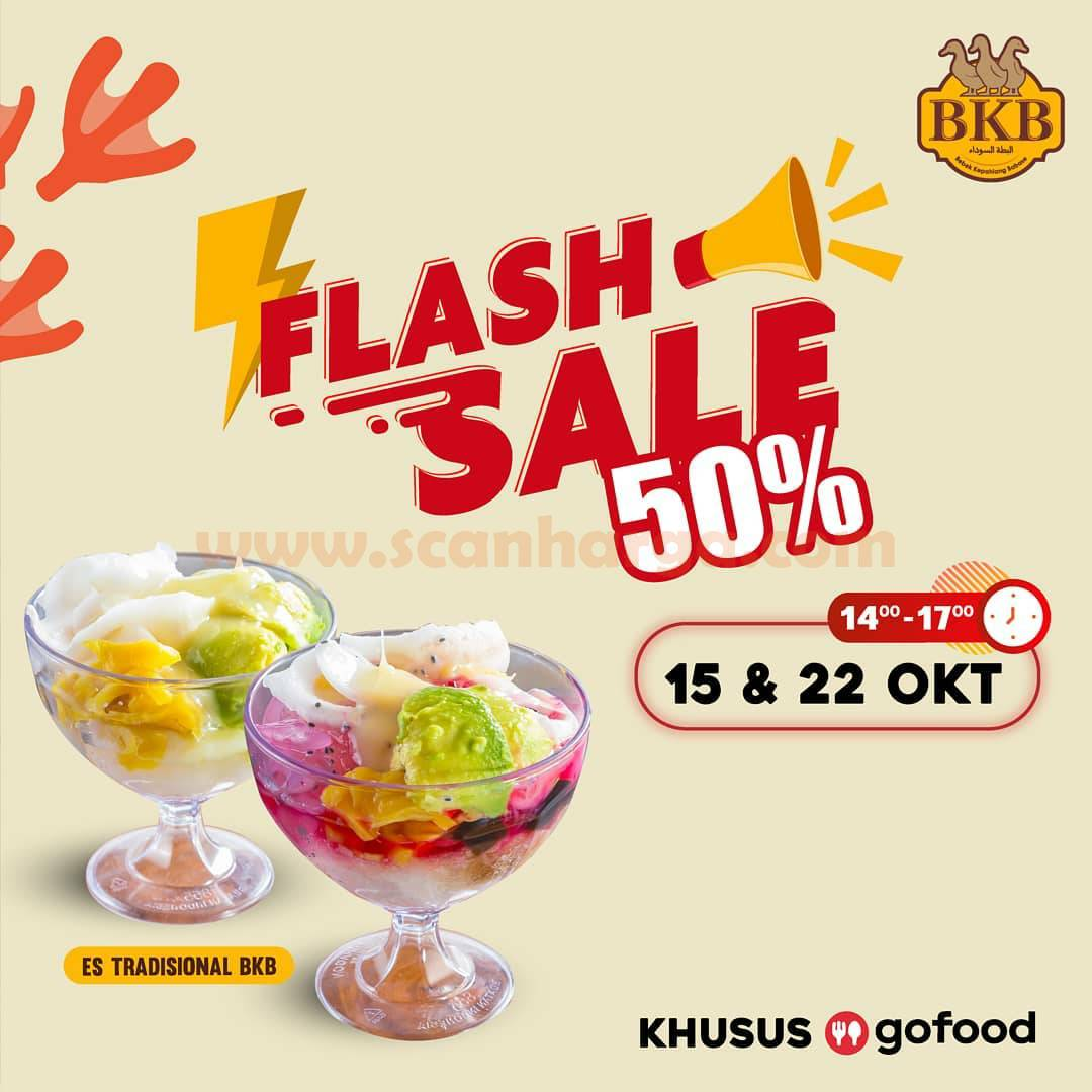Promo Bebek BKB Flash Sale 50% Khusus Es Campur dan Es Teler Pemesanan via Gofood