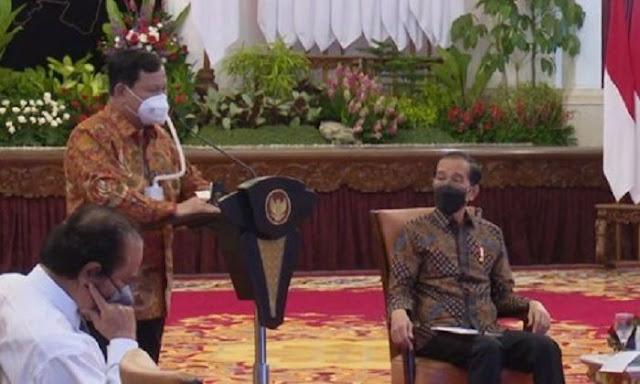 Pujian Prabowo pada Jokowi Hal Wajar, yang Penting Bapak Senang Dulu