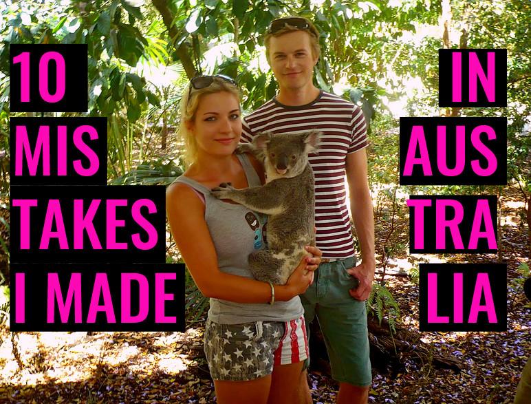 travel mistakes australia