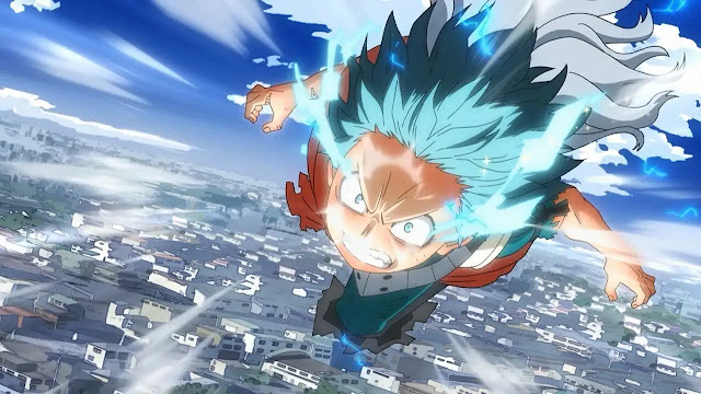 Midoriya vs Overhaul