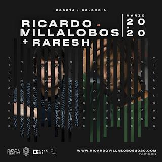 Ricardo Villalobos + RARESH ¡EN VIVO! en Colombia