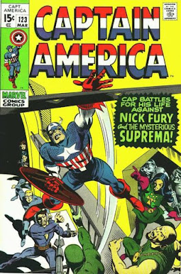 Captain America #123, Suprema