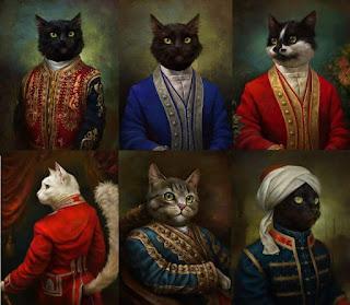 Los gatos del museo del Hermitage de San Petersburgo