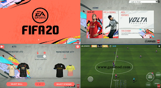 Download FIFA 20 Mod Apk Android Offline New Update Kits 2021