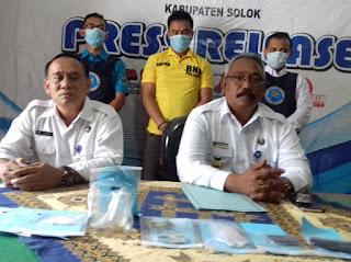 BNNK Solok Amankan Pengedar Shabu di Bukit Kili Kotobaru