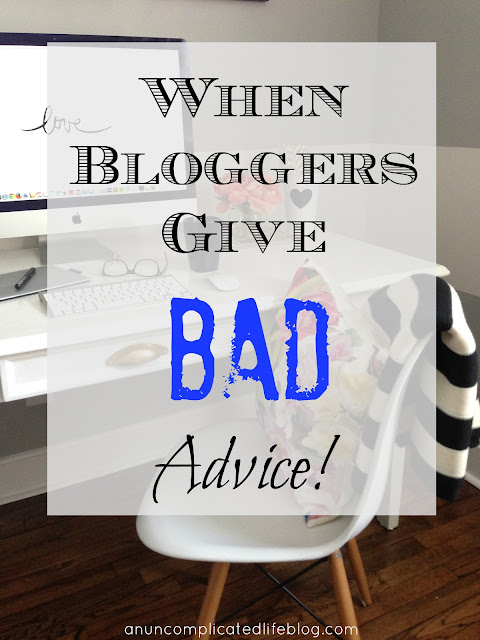 Tips, how-to's and advice posts are EVERYWHERE, and bloggers have jumped on the trend to increase page views. But what if what they have to say is bad advice, outright wrong, or worse yet - illegal?