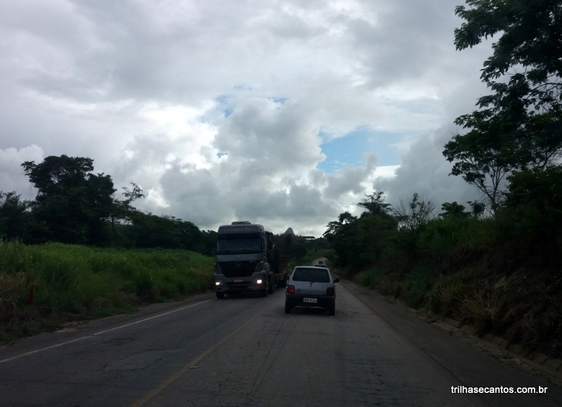 Roteiro de carro de São Paulo à Bahia