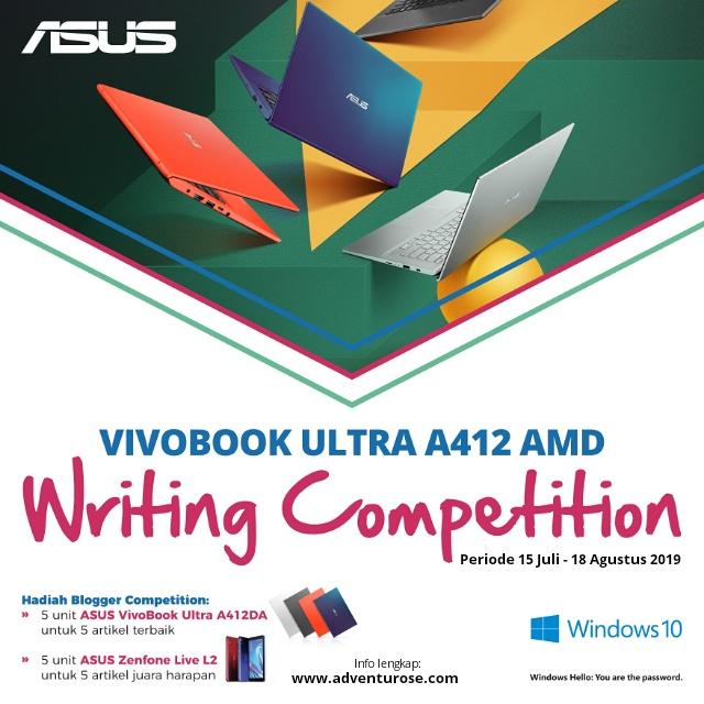 Semangatkan Hidupmu dengan ASUS VivoBook Ultra A412DA 4