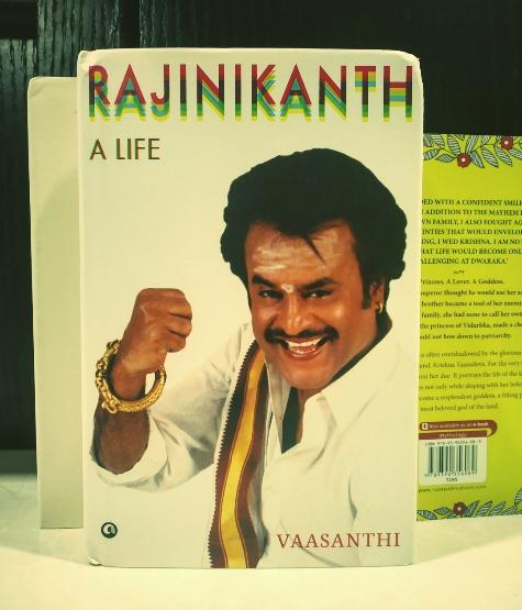 Rajinikanth a Life by Vaasanthi