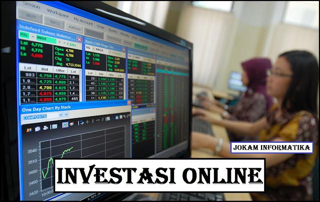4 Rekomendasi Investasi Online Bagi Pemula - JOKAM INFORMATIKA