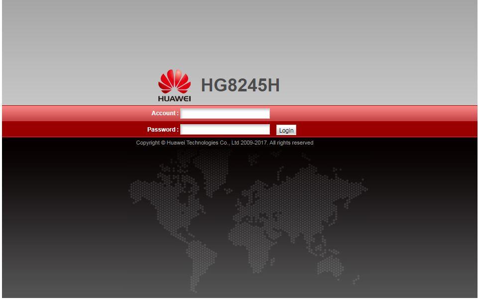 Password Modem Huawei