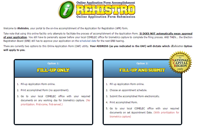 Commission on Election Launches 'I-rehistro' an Online Voter Registration