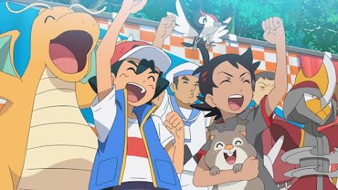 Capitulo 47 Pokémon Espada y Escudo - ¡Campeón Pokémon! ¡La batalla de los grandes devoradores!