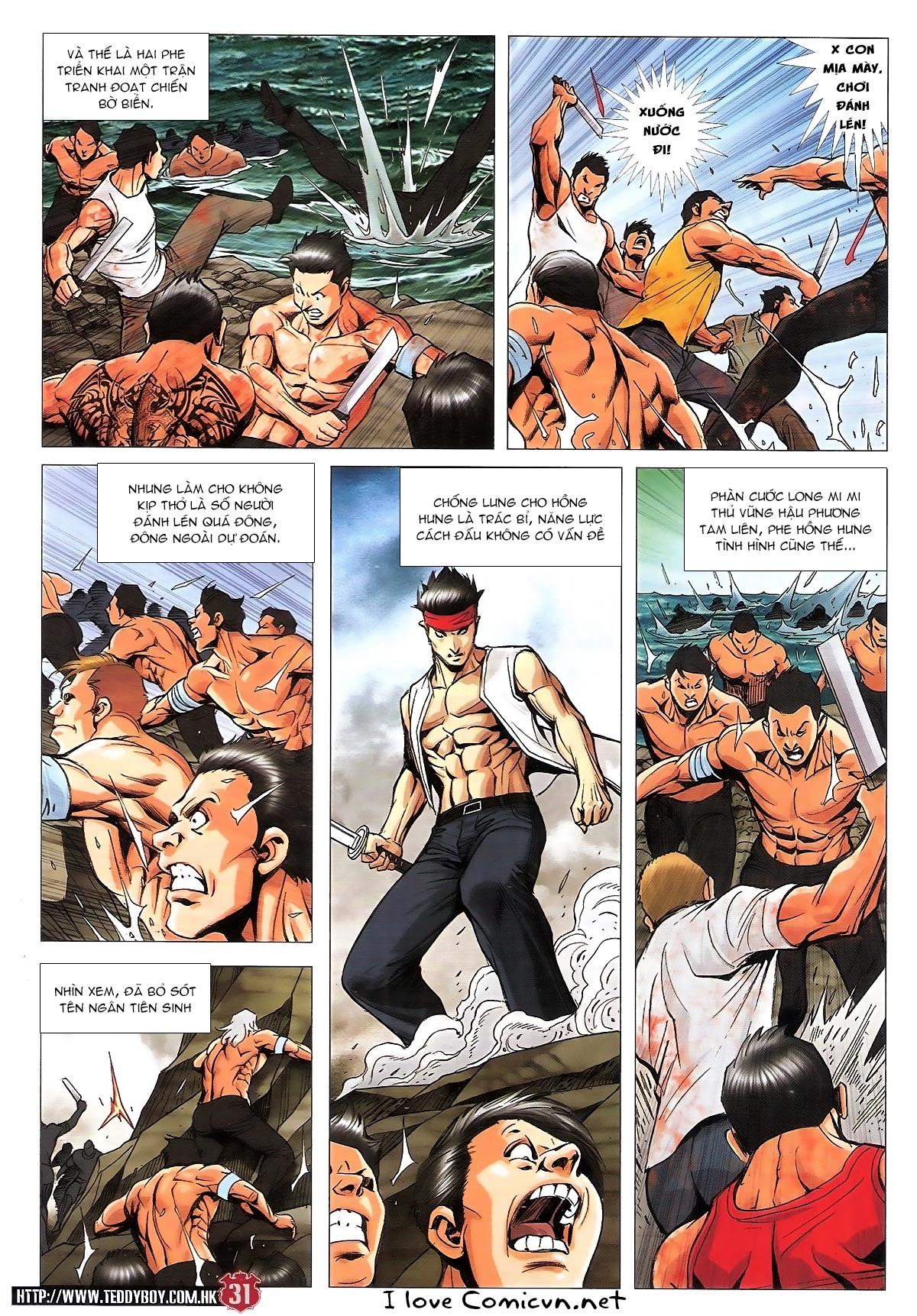 Người Trong Giang Hồ chapter 1840: đại phi ác chiến kim tôn quý trang 29