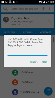 How to get 1gb data for N50 or 2gb for N100