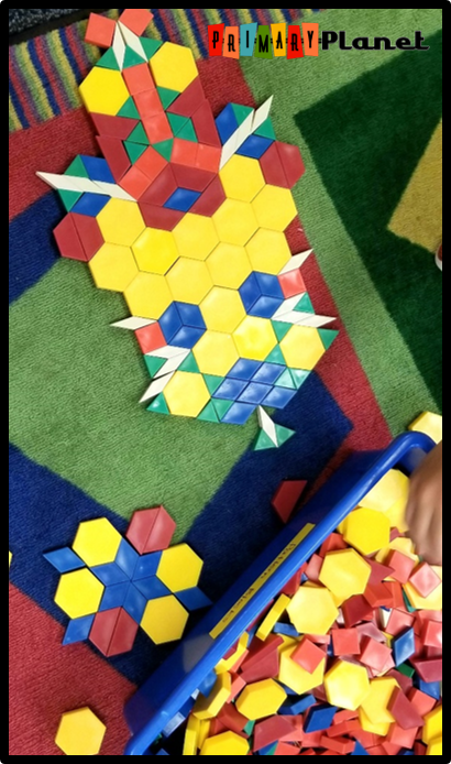Image of a pattern block creation!