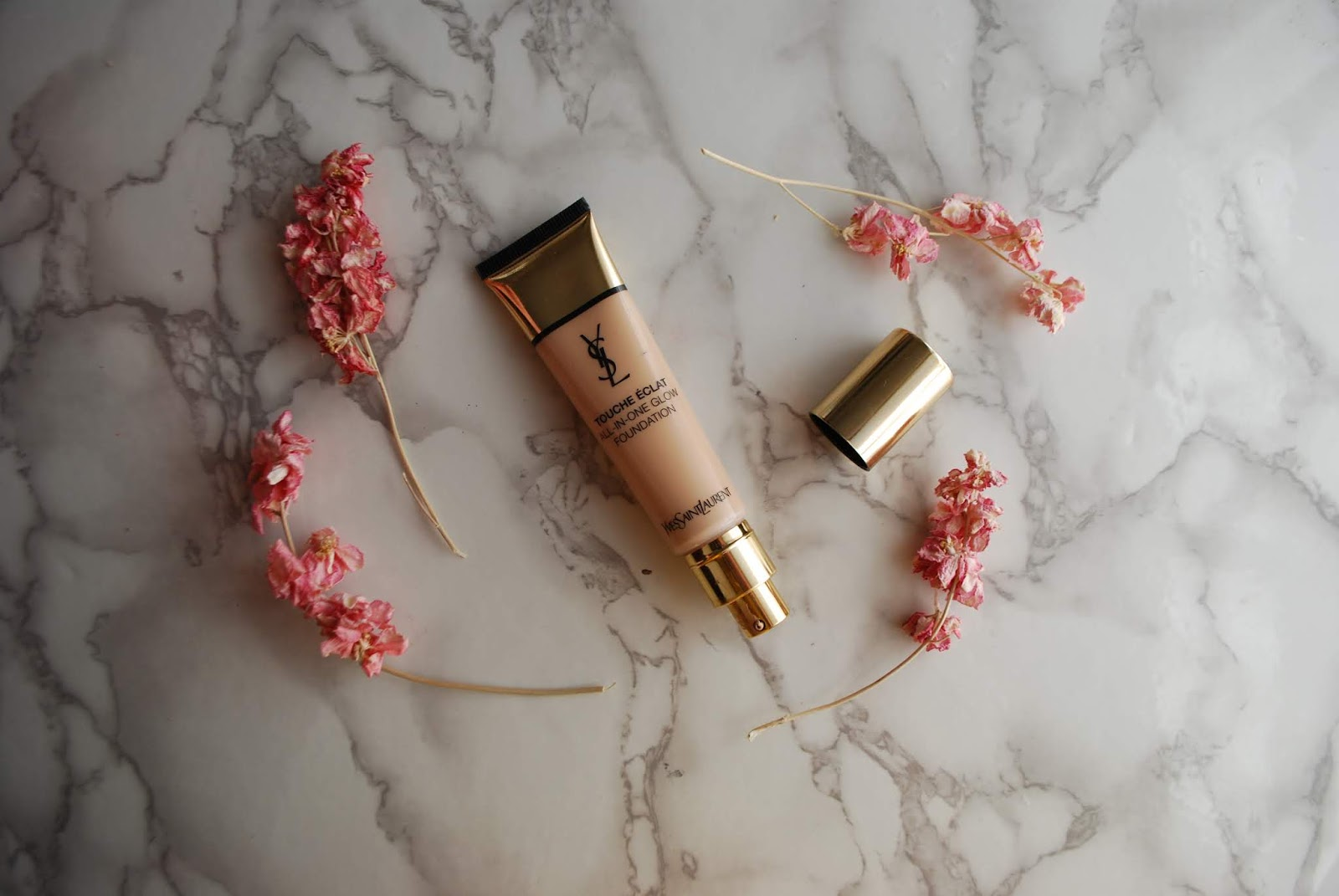 ysl all in one glow foundation review and swatches