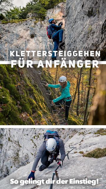Klettersteiggehen für Anfänger – So gelingt dir der Einstieg! Klettersteig gehen - das ist wichtig für den Anfang 20