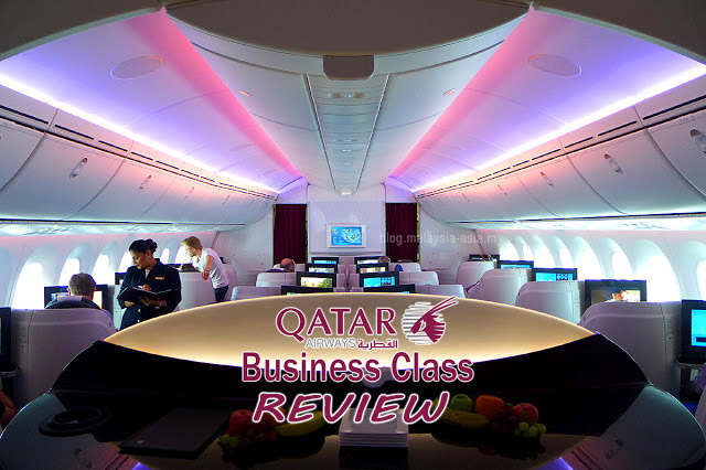Review of Business Class Qatar Airways