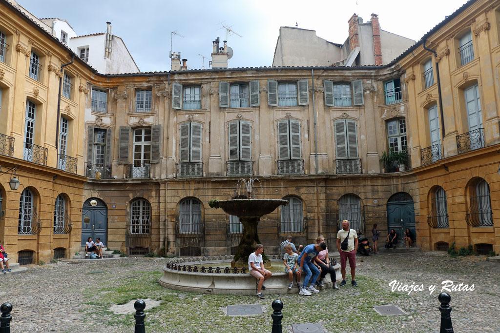 Plaza de las Albertas, Aix en Provence