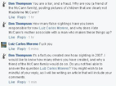 Man responsible for hoax sightings of Madeleine, is a McCann family friend.  Luiz%2Bresponds%2Bfuck%2Byou%2Bto%2Bquestioning