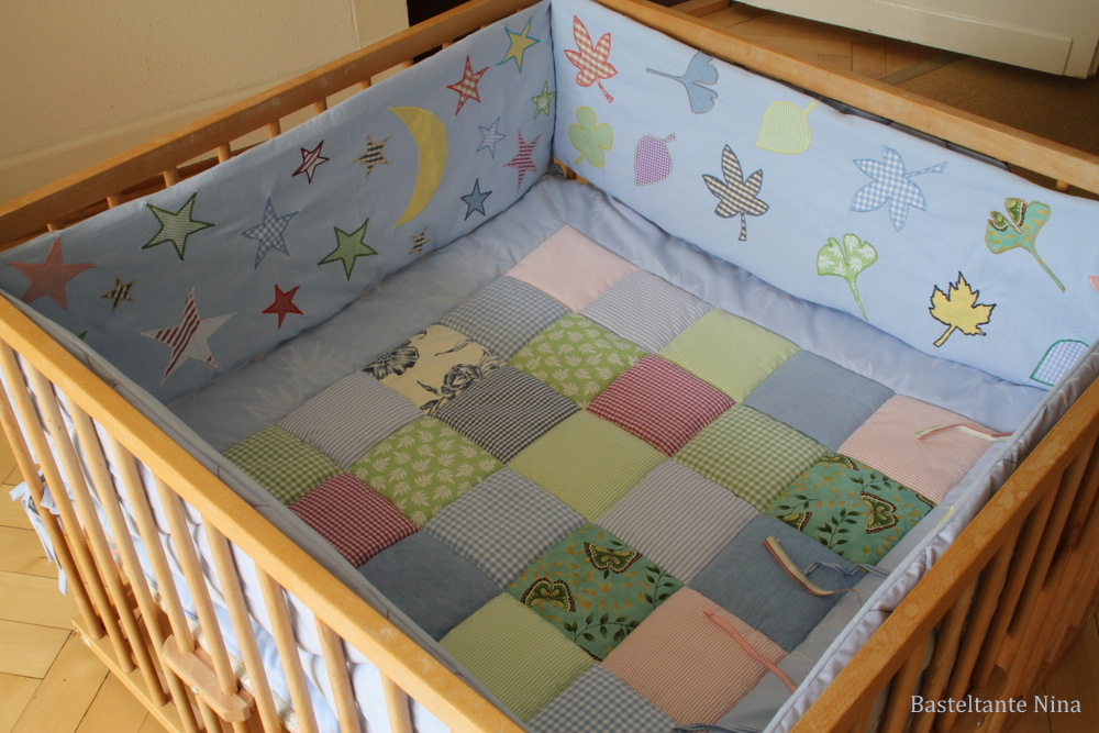 basteltante nina nestchen f r den laufstall. Black Bedroom Furniture Sets. Home Design Ideas