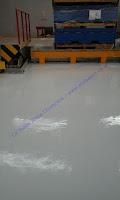 epoxy lantai pada warehouse atau gudang