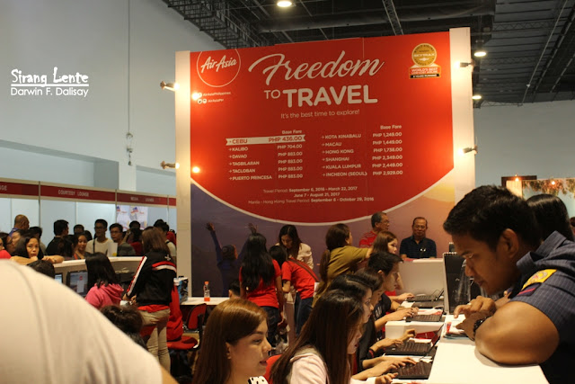 Booth of Air Asia