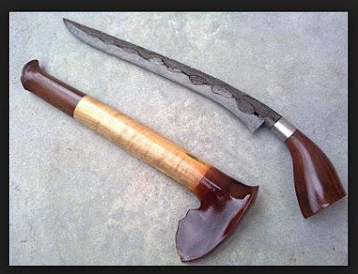 Senjata Tradisional Jambi Badik Tumbuk Lada