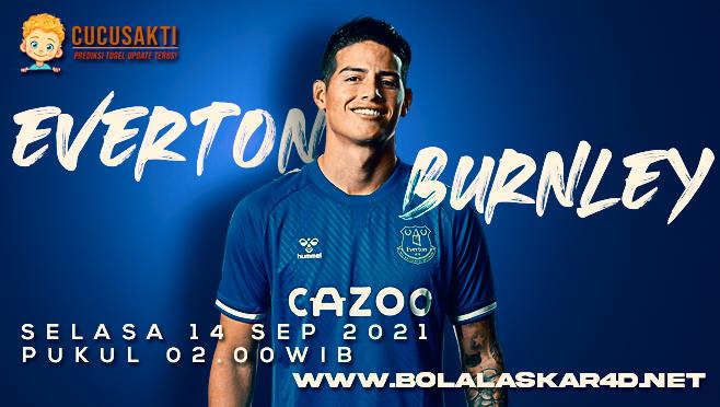 Prediksi Bola Everton vs Burnley Selasa 14 September 2021
