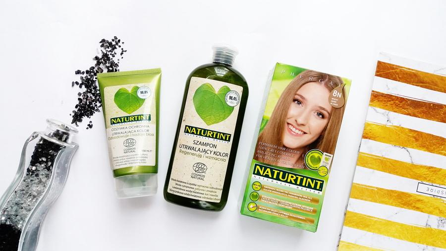 Kosmetyki Naturtint - szampon, odżywka i farba do włosów