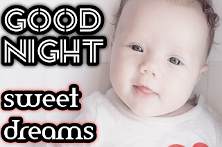 Good night baby image, baby good night pic