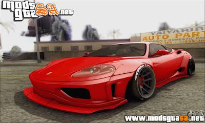 Ferrari 360 LB Work
