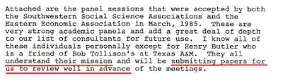 Tobacco Instititute, James M. Savarese, Robert D. Tollison
