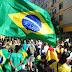 Manifestação em Porto Alegre contra Leite, STF e a favor de Bolsonaro